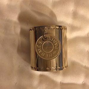 Authentic Hermès Scarf Ring